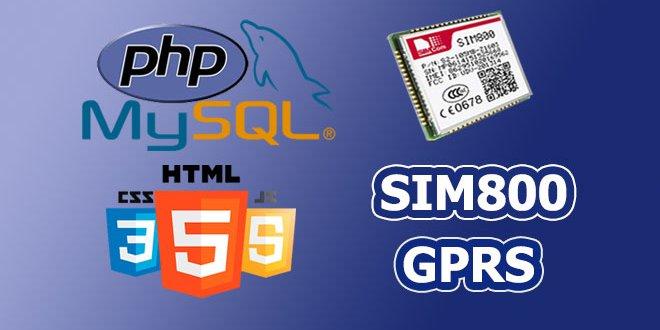 ارسال دیتا به سرور توسط ماژول SIM800